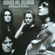 Discos de vinilo: HEROES DEL SILENCIO - AVALANCHA - LP DE VINILO DEL 2007 - IMPECABLE #. Lote 201713786