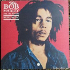Discos de vinilo: BOB MARLEY & THE WAILERS - REBEL MUSIC (LP, COMP, GAT) (ARIOLA, ISLAND RECORDS) 5B 210 846 (D:NM). Lote 201715942