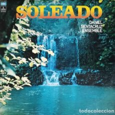Discos de vinilo: DANIEL SENTACRUZ ENSEMBLE - SOLEADO - LP 1ª EDICION ORIGINAL ITALIANA - ITALO DISCO #. Lote 201723073