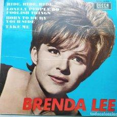 Discos de vinilo: BRENDA LEE - RIDE,RIDE,RIDE (EP) (DECCA)SDGA 18.003. Lote 201725507