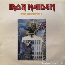 Discos de vinilo: IRON-MAIDEN -PICTURE-DISC - LP - 2002 - BBC ARCHIVE -2 86929 - PD4 #. Lote 201729055