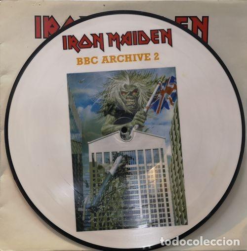 Discos de vinilo: IRON-MAIDEN -Picture-Disc - LP - 2002 - BBC Archive -2 86929 - PD4 # - Foto 2 - 201729055