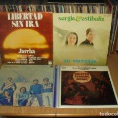 Discos de vinilo: LOTE 6 LP'S GRUPOS FOLK ESPAÑOL. Lote 201731458