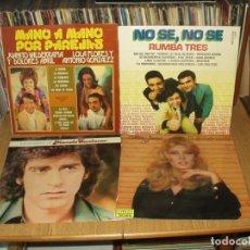 Discos de vinilo: LOTE 7 LP'S MUSICA ESPAÑOLA MANOLO SANLUCAR.- MARIA JIMENEZ.- RUMBA TRES... Lote 201732293