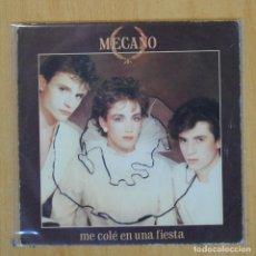Discos de vinil: MECANO - ME COLE EN UNA FIESTA / BODA EN LONDRES - SINGLE. Lote 201734316
