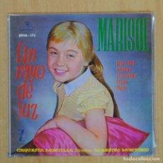 Disques de vinyle: MARISOL - UN RAYO DE LUZ - EP. Lote 201735497