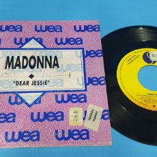 Discos de vinilo: DISCO DE VINILO SINGLE PROMOCIONAL MADONNA DEAR JESSIE 1989 WEA. Lote 201735916