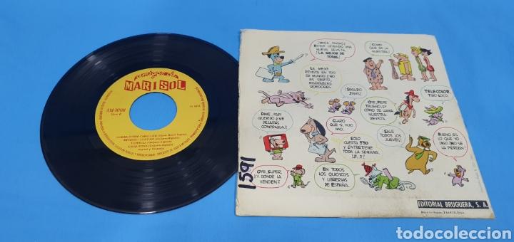 Discos de vinilo: Disco de vinilo single Marisol canta el himno de los amigos de Marisol. Ed. Bruguera . 1963 - Foto 2 - 201740545