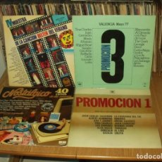 Discos de vinilo: LOTE 7 LP'S RECOPILATORIOS ESPAÑOLES. Lote 201748888