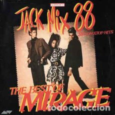 Discos de vinilo: MIRAGE - JACK MIX 88 - THE BEST OF MIRAGE - 88 NON STOP HITS. Lote 201753488