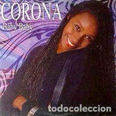 Discos de vinilo: CORONA - BABY BABY. Lote 201754270