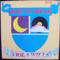 Discos de vinilo: VIOLA WILLS - DARE TO DREAM. Lote 201754373
