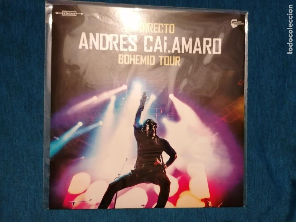 OFERTA FLASH NAVIDAD MINI LP ANDRÉS CALAMARO EN DIRECTO BOHEMIO TOUR LTD (Música - Discos de Vinilo - EPs - Rock & Roll)