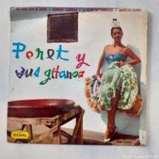 Discos de vinilo: PERET. QUE NADA SEPA MI SUFRIR. REGA SEDL 19.352. 1964. FUNDA VG. DISCO VG++.. Lote 201764571