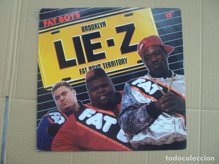 FAT BOYS, BROOKLYN LIE-Z. MAXI-SINGLE EDICION ALEMANA 1989 TIN PAN APPLE (Música - Discos de Vinilo - Maxi Singles - Pop - Rock - New Wave Internacional de los 80)