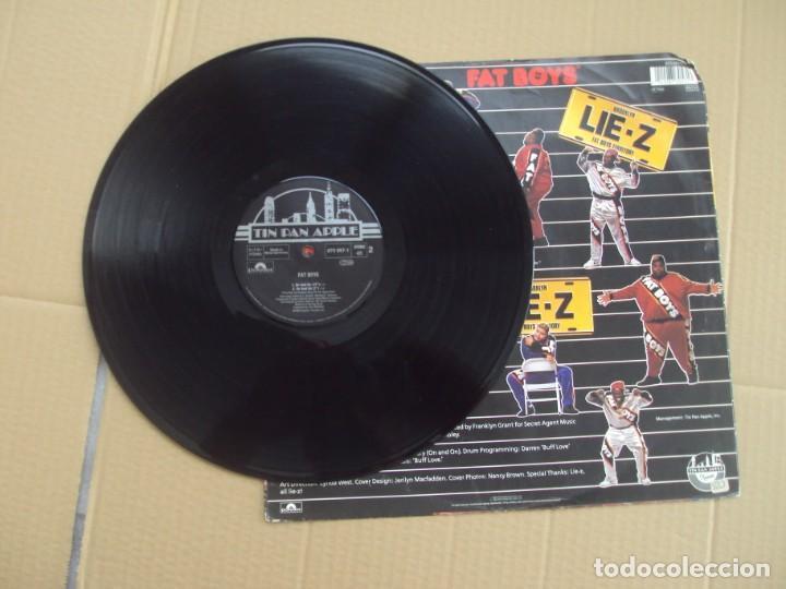 Discos de vinilo: FAT BOYS, BROOKLYN LIE-Z. MAXI-SINGLE EDICION ALEMANA 1989 TIN PAN APPLE - Foto 3 - 201770211
