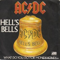 Discos de vinil: AC/DC SINGLE FRANCIA 1980,SELLO ATLANTIC. Lote 201770515