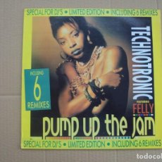 Dischi in vinile: TECHNOTRONIC, PUMP UP THE JAM. LIMITED EDITION. LP EDICION ESPAÑOLA 1989 MAX MUSIC. Lote 201771206