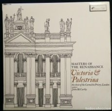 Discos de vinilo: VICTORIA & PALESTRINA : THE CHOIR OF THE CARMELITE PRIORY - LP VINYL 1965. Lote 201783142
