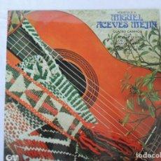 Discos de vinilo: HOMENAJE A MIGUEL ACEVES MEJIA - GM GRAMUSIC - 1974. Lote 201783866