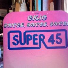 Discos de vinilo: CHIC. DANCE,DANCE,DANCE.MAXI - SINGLE 45 RPM. Lote 201784275