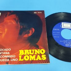 Discos de vinilo: DISCO DE VINILO SINGLE BRUNO LOMAS , LO EQUIVOCADO. REGAL . 1966. Lote 201793341