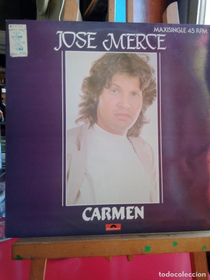 JOSE MERCE ,CARMEN,,MAXI SINGLE (Música - Discos de Vinilo - Maxi Singles - Flamenco, Canción española y Cuplé)