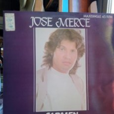 Discos de vinilo: JOSE MERCE ,CARMEN,,MAXI SINGLE. Lote 201798906