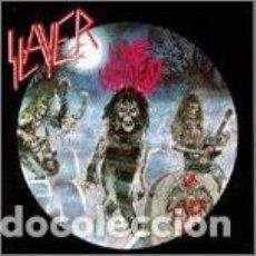 Discos de vinilo: SLAYER – LIVE UNDEAD LP COLOURED VINYL 180 GRAM LIMITED EDITION. Lote 295517528