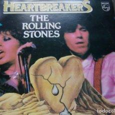 Discos de vinilo: THE ROLLING STONES - HEARTBREAKERS - 19 LOVE SONGS PHILIPS 1982. Lote 201808181