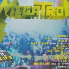 Discos de vinilo: MEGATRON -- ALBÚM CON 2 LPS- 2 UNLIMITED, CO.RO, DANE TO TRANCE, THE JOKERS Y OTROS. Lote 201808262