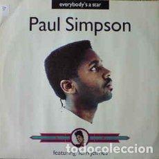 Discos de vinilo: PAUL SIMPSON FEATURING TERRI JEFFRIES - EVERYBODY'S A STAR. Lote 201815551