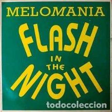 Discos de vinilo: MELO-MANIA - FLASH IN THE NIGHT - 12 SINGLE - AÑO 1994. Lote 254311460
