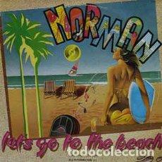 Discos de vinilo: NORMAN - LET'S GO TO THE BEACH. Lote 201815745