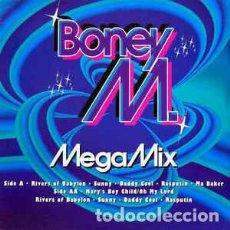 Discos de vinilo: BONEY M. - MEGAMIX . Lote 201816161