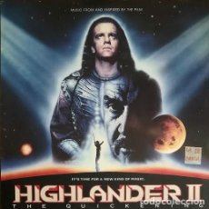 Discos de vinilo: HIGHLANDERS II - LOS INMORTALES II - BANDA SONORA ORIGINAL BSO - LP #. Lote 201830578