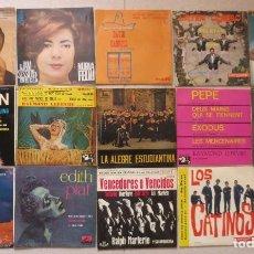 Discos de vinilo: LOTE DE 15 SINGLE VARIADOS AÑOS 60. Lote 201831661