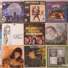 Discos de vinilo: LOTE DE 15 SINGLE VARIADOS AÑOS 70 EXTRANJEROS. Lote 201834012