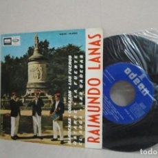 Discos de vinilo: RAIMUNDO LANAS -BARDENAS -EP DE 4 CANCIONES - AÑO 1966- ODEON -BCN . Lote 201841541