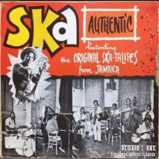 Discos de vinilo: LP SKA AUTHENTIC - 1ER. LP DE LA BANDA SKATALITES DE JAMAICA -ORIGINAL 1967. Lote 201847170