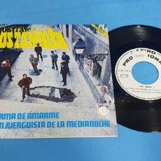 Discos de vinilo: DISCO DE VINILO SINGLE PROMOCIONAL LOS TAMARA , TU FORMA DE AMARME . ZAFIRO . 1969. Lote 201857852