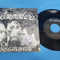 Discos de vinilo: DISCO DE VINILO SINGLE EXTREMODURO, ROCK TRANSGRESIVO . EXTRMAYDURA. AVISPA.. Lote 201858903