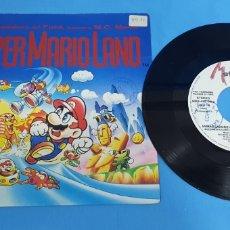 Discos de vinilo: DISCO DE VINILO SINGLE PROMOCIONAL SÚPER MARIO LAND . INSTRUMENTAL. 1992 METRÓPOL. Lote 201859083