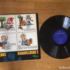 Discos de vinilo: SUEÑOS MARAVILLOSOS 2 VINILO LP. Lote 201863861