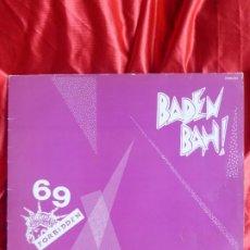Discos de vinilo: 69 FORBIDDEN + BADEN BAH-PROHIBIDO EL 69 + DONT PANIC + AMANECE EN BANGKOK + DIOSA DEL SOL MAXI. Lote 201893073