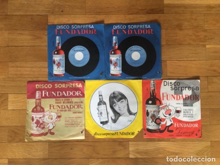 DISCO SORPRESA FUNDADOR LOTE (Música - Discos - Singles Vinilo - Solistas Españoles de los 70 a la actualidad)