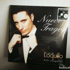 Discos de vinil: LOQUILLO - NUEVE TRAGOS - LP 180GR + CD - NUEVO Y PRECINTADO . Lote 201900286