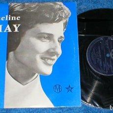 Discos de vinilo: JACQUELINE LEMAY OBLATE MISSIONAIRE DU CANADA 1960S FRANCIA LP CHANSON POP RELIGOSO EXCELENTE RARO !. Lote 201904007