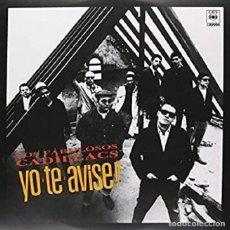 Discos de vinilo: COLECCIONISTAS- LP YO TE AVISÉ - LOS FABULOSOS CADILLACS-ORIGINAL ARGENTINA 1987. Lote 201908026