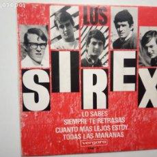 Discos de vinilo: LOS SIREX- LO SABES- EP 1966.. Lote 201908208